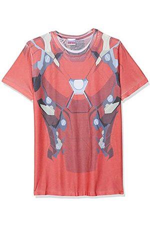 I-D-C CID Civil War-Sublimated Iron Man Suit Costume, Camisetas para Hombre
