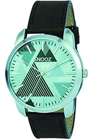 Snooz RelojAnalógicoparaHombredeCuarzoconCorreaenCueroSaa0044-67