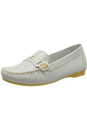 Marco Tozzi 2-2-24225-34, Mocasines para Mujer, (White/Yellow 185)