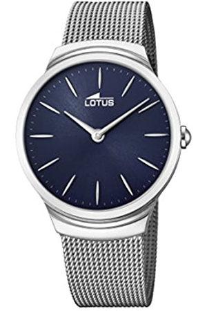 Lotus Reloj Análogo clásico para Hombre de Cuarzo con Correa en Acero Inoxidable 18493/2