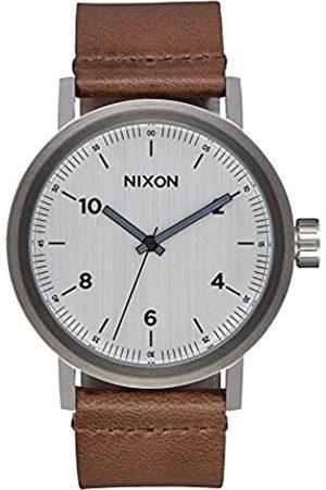 Nixon Reloj Analogico para Hombre de Cuarzo con Correa en Cuero A1194-2092-00