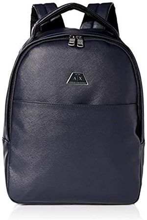Armani Backpack With Handle, Mochilas Hombre, (Navy Navy)