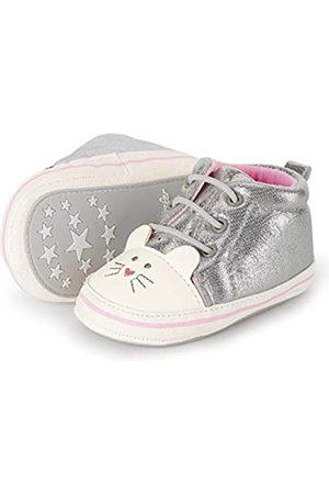 Sterntaler Baby-Schuh, Botas para Bebés, (Silver 513)