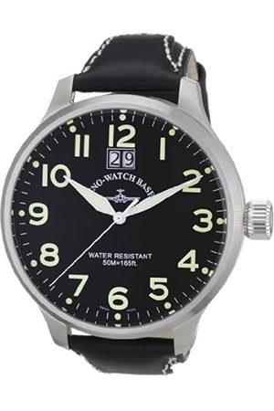 Zeno 6221Q-a1 - Reloj analógico para Caballero de Cuero