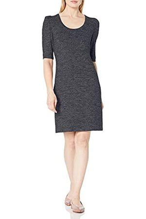 Daily Ritual Acogedor Knit Puff-Shoulder Vestido Dresses