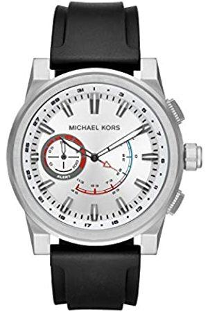 Michael Kors Reloj Analogico para Hombre de Cuarzo con Correa en Silicona MKT4009