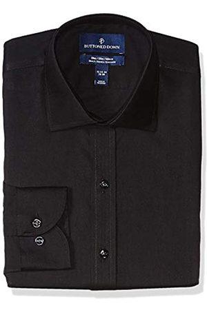 Buttoned Down Slim-Fit Stretch Twill Non-Iron Dress Shirt Shirts