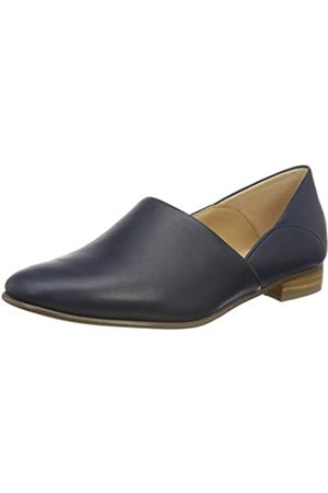 Clarks Pure Tone, Mocasines para Mujer, (Navy Leather Navy Leather)