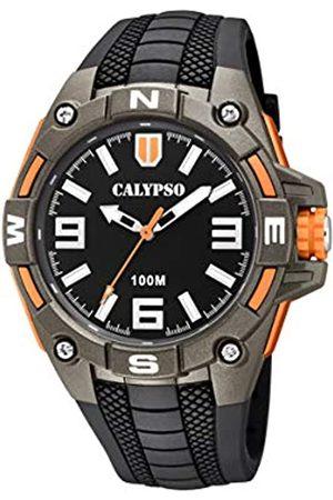 Calypso Reloj Analógico para Hombre de Cuarzo con Correa en Plástico K5761/4