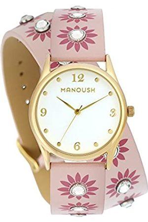 Manoush RelojAnalógicoparaUnisexAdultosdeCuarzoconCorreaenPUMSHDI04