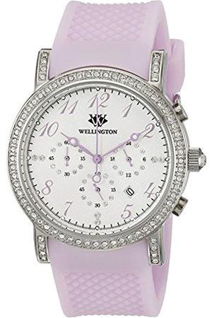 Daniel Wellington Amberley WN505-110A - Reloj analógico de Cuarzo para Mujer con Correa de Silicona