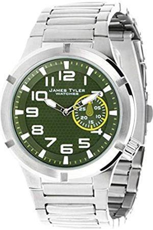 JAMVF James Tyler JT703-1 - Reloj para Hombres, Correa de Acero Inoxidable