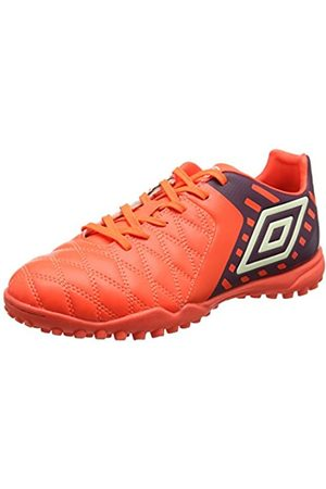 Umbro Medusæ II Club TF, Botas de fútbol para Hombre, (Winter Bloom/White/Fiery Coral)