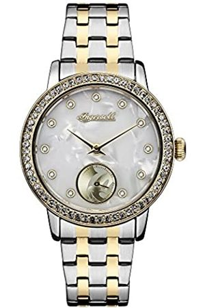 INGERSOLL 1892 Disney Women's Union Quartz Watch with Mother of Pearl Dial and Two-Toned Stainless Steel Bracelet ID00801
