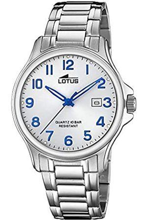 Lotus RelojAnalógicoparaHombredeCuarzoconCorreaenAceroInoxidable18645/4
