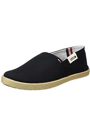 Tommy Hilfiger Tommy Jeans Summer Shoe, Mocasines para Hombre, (Black Bds)