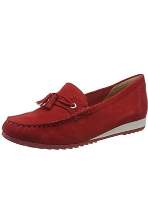 Caprice Inoxy, Mocasines para Mujer, (Red Suede 524)