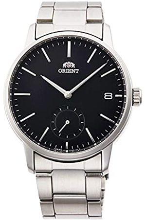 Orient Reloj Analógico para Unisex Adultos de Cuarzo con Correa en Acero Inoxidable RA-SP0001B10B