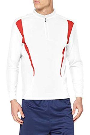 Spiro Trial Training, Tops de entrenamiento de prueba para hombre, ( (White/Red/White 091) 091)