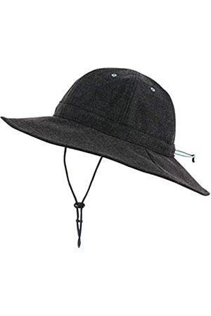 Millet Wide Brimmed Hat Sun, Womens, Black-Noir