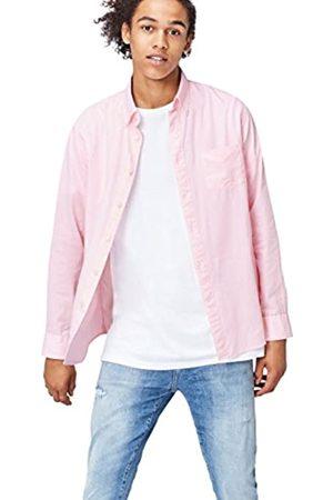 FIND Regular Oxford Camicia, (Pink-01)