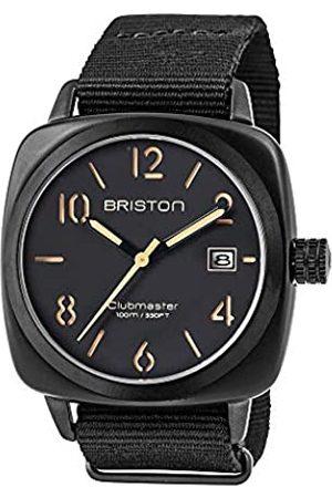 BRISTON RelojAnalógicoparaHombredeCuarzoconCorreaenNailon14240-PBAM-B-4