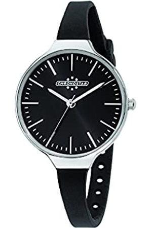 Chronostar Chrono Star Watches de Mujer Reloj de Pulsera Toffee analógico de Cuarzo Silicona r3751248504