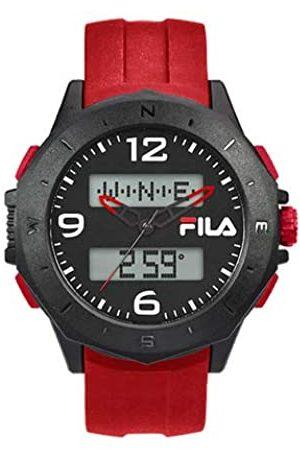Fila RelojDigitalparaUnisexAdultosdeCuarzoconCorreaenPU38-150-004