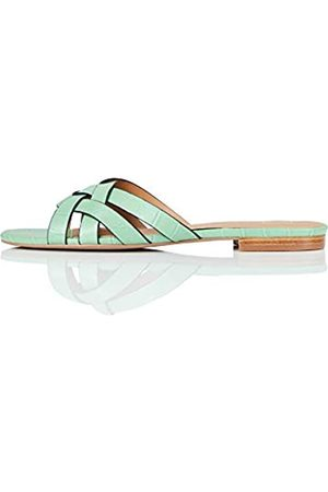 find. Marca Amazon - Sandalias abiertas para mujer Lattice Strap Mule