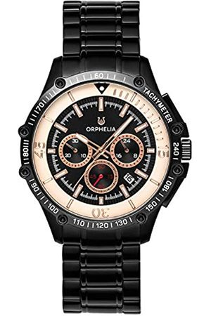 ORPHELIA Reloj Cronógrafo para Hombre de Cuarzo con Correa en Acero Inoxidable OR82812