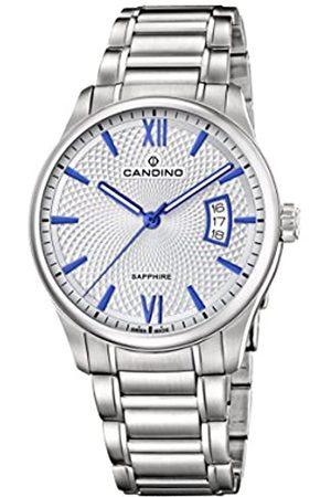 Candino Reloj Análogo clásico para Hombre de Cuarzo con Correa en Acero Inoxidable C4690/1