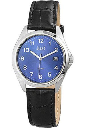 Just Watches 48-S11008-BL - Reloj de Pulsera Hombre, Piel