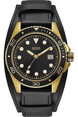 Guess Reloj Analógico para Hombre de Cuarzo con Correa en Cuero W1051G3
