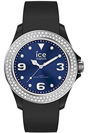 Ice-Watch ICE Star Black Deep Blue - Reloj para Mujer con Correa de Silicona