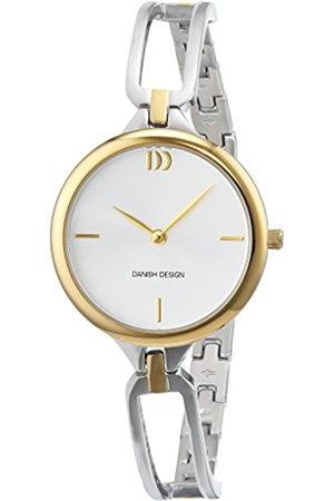 Danish Design Reloj Cuarzo para Mujer con Plata Analogico Y Acero Inoxidable 3324587