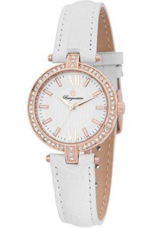 Burgmeister Reloj analógico para Mujer de Cuarzo con Correa en Cuero BM167-316