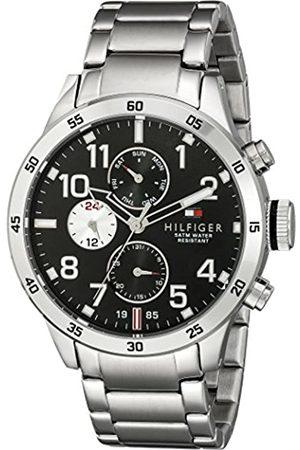 Tommy Hilfiger Reloj para hombre 1791141, mecanismo de cuarzo, diseño con varias esferas