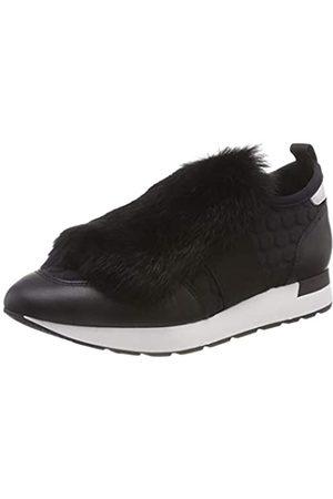 Pollini Running Time, Zapatillas sin Cordones para Mujer, Schwarz (Black 00a)
