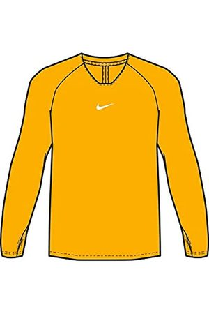 Desconocido Nike Park First Layer Jersey LS, Unisex niños, University Gold/White