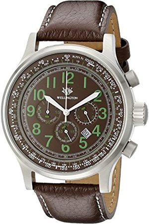 Daniel Wellington WN302-195 - Reloj cronógrafo de Cuarzo de Hombre (Correa de Acero Inoxidable)
