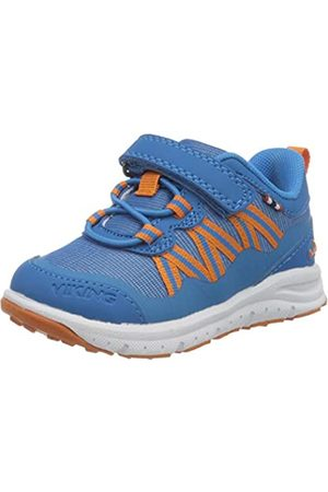 Viking Holmen, Zapatillas Unisex niños, (Blue/Orange 3531)