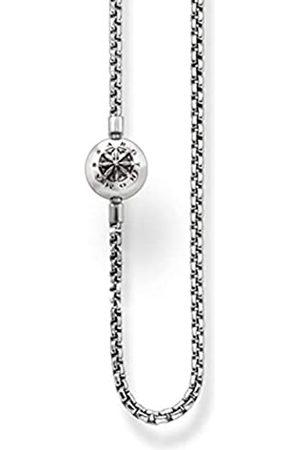 Thomas Sabo Karma Beads, Unisex, Cadena de ley 925, ennegrecida