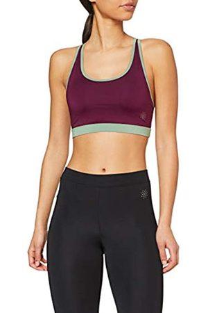 AURIQUE Marca Amazon - Sujetador Deportivo Bajo Impacto Tirantes Yoga Mujer, S