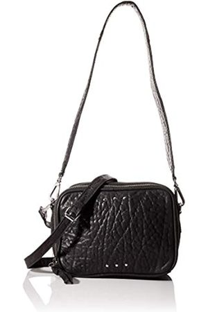 Pieces Pcninja Leather Cross Body, Bolsos bandolera Mujer, 7x13x17