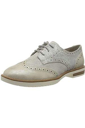 s.Oliver 5-5-23202-24, Zapatos de Cordones Brogue para Mujer, (Silver Comb 913)