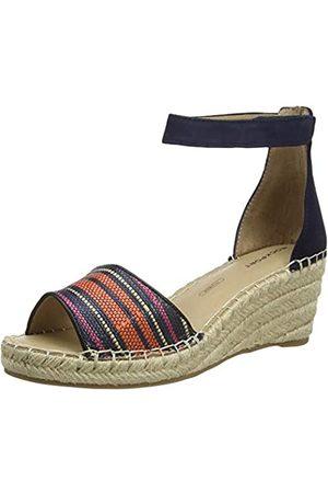 Rockport Marah 2 Piece Ankle Sandal, Sandalias con Plataforma para Mujer, (Navy 002)