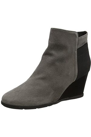 Geox D Inspiration Wedge C, Botas para Mujer, (Chestnut)