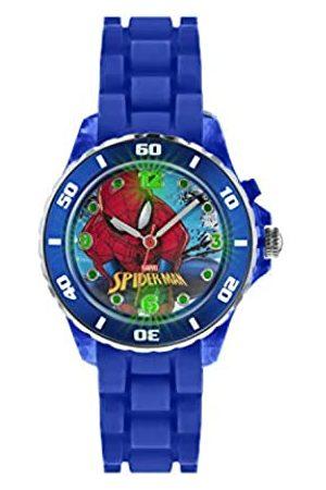SPIDERMAN Reloj Infantil de Cuarzo con Esfera Analógica Pantalla y Correa de Caucho Azul spd3415