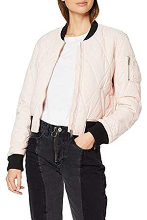 Urban classics Ladies Diamond Quilt Short Bomber Chaqueta