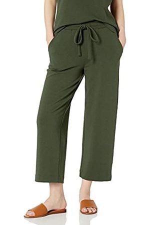 Daily Ritual Pantalón de Rizo de algodón y Modal Pajama-Bottoms